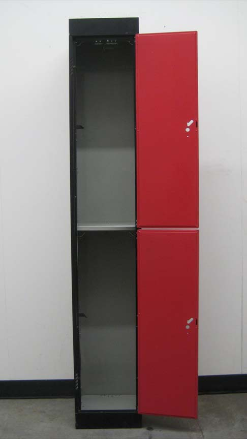 Two Tone Double Tier Storage Lockerimage 3 image 3