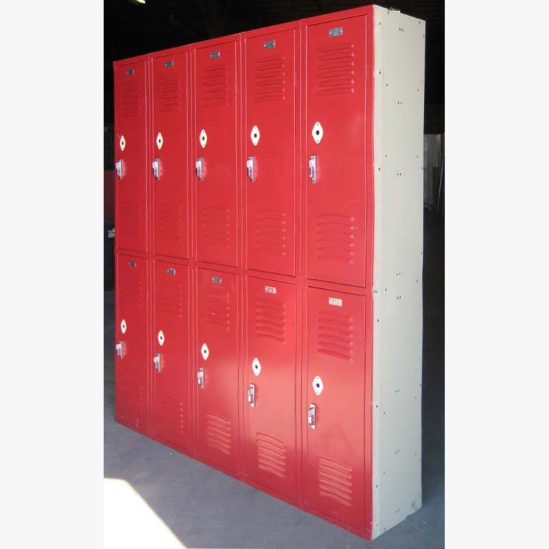 Clean Double Tier Lockers