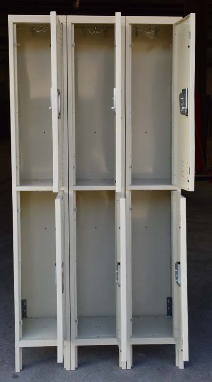 Double Tier Steel Storage Locker Compartmentsimage 3 image 3