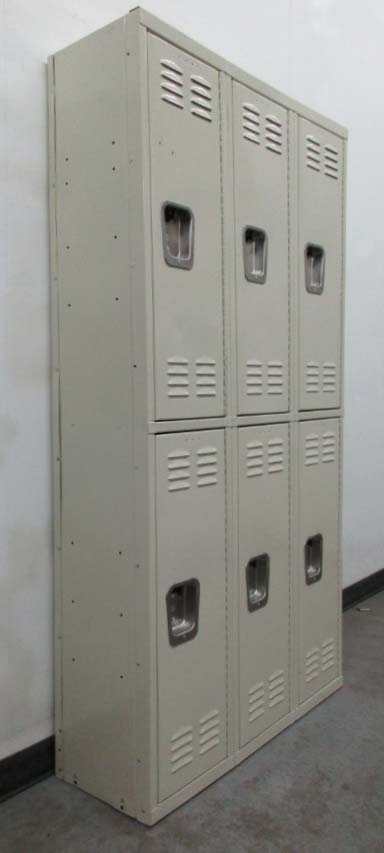 Double Tier Metal Lockers for sale