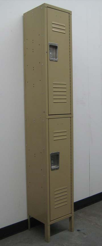 Double Tier lockers with legs