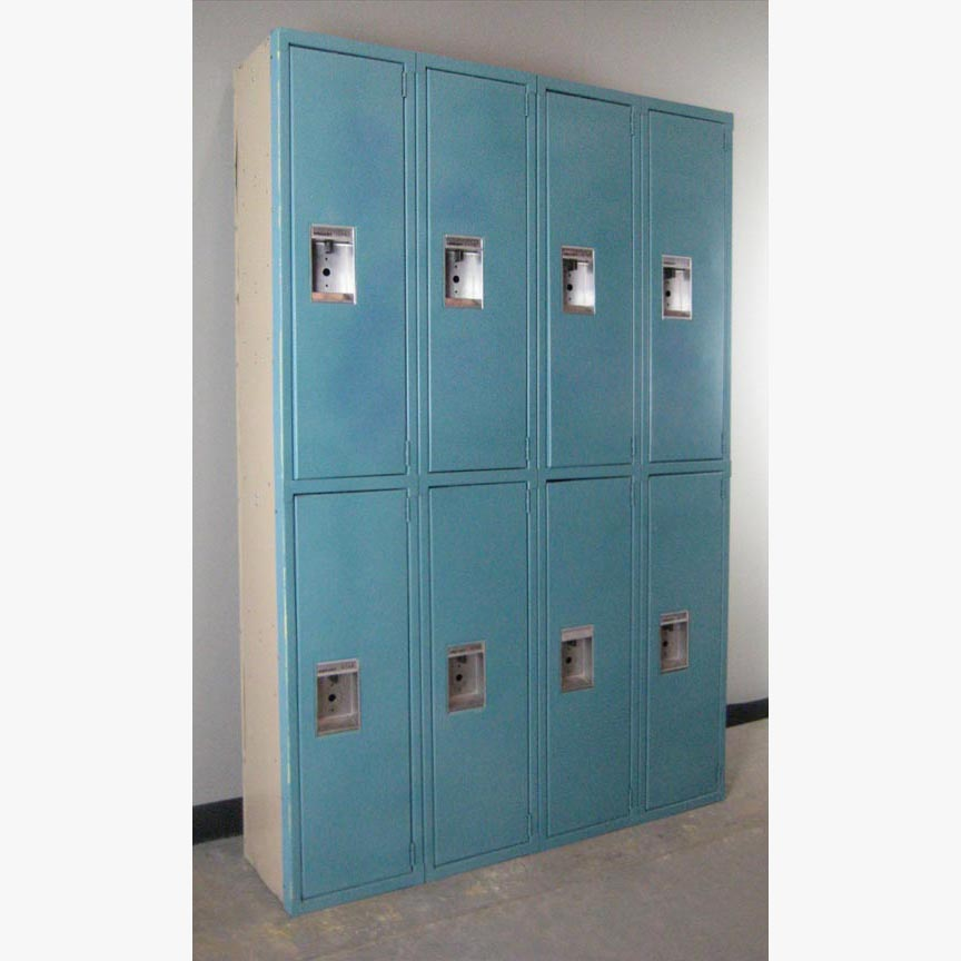 Double Tier Blue Lockers