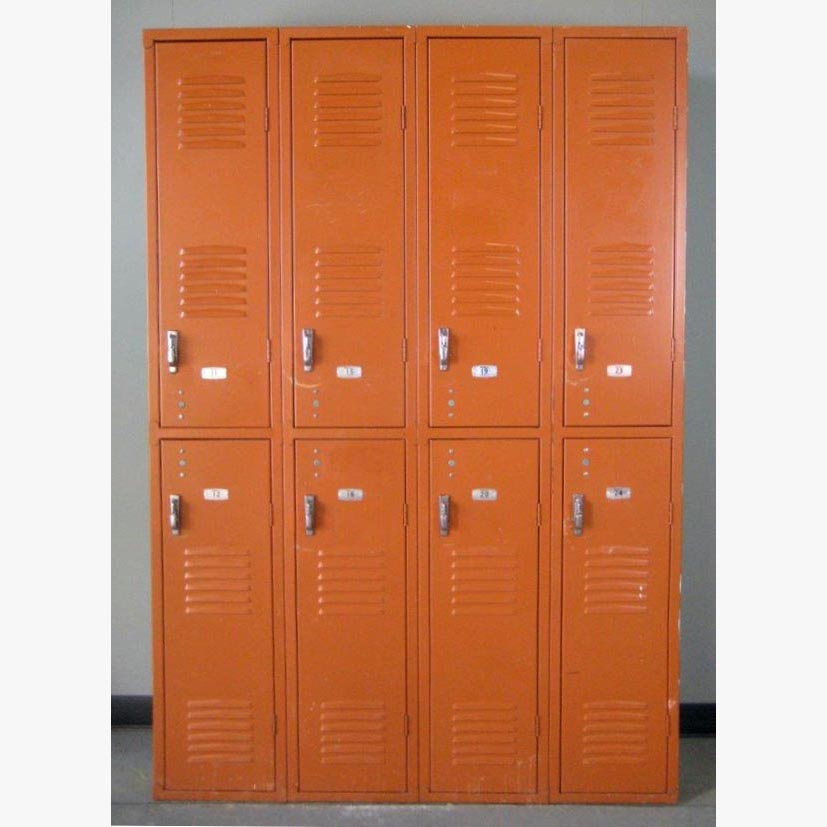 Brown Double Tier metal Lockersimage 2 image 2