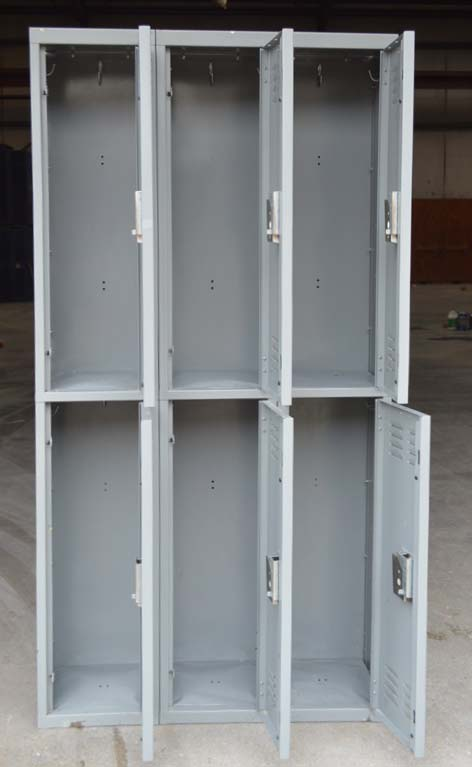 Double Stacked Steel Storage Lockerimage 3 image 3