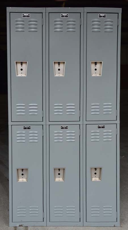Double Stacked Steel Storage Lockerimage 2 image 2