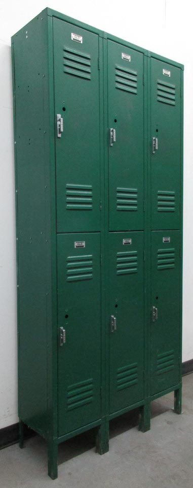 Vintage Metal School Lockers