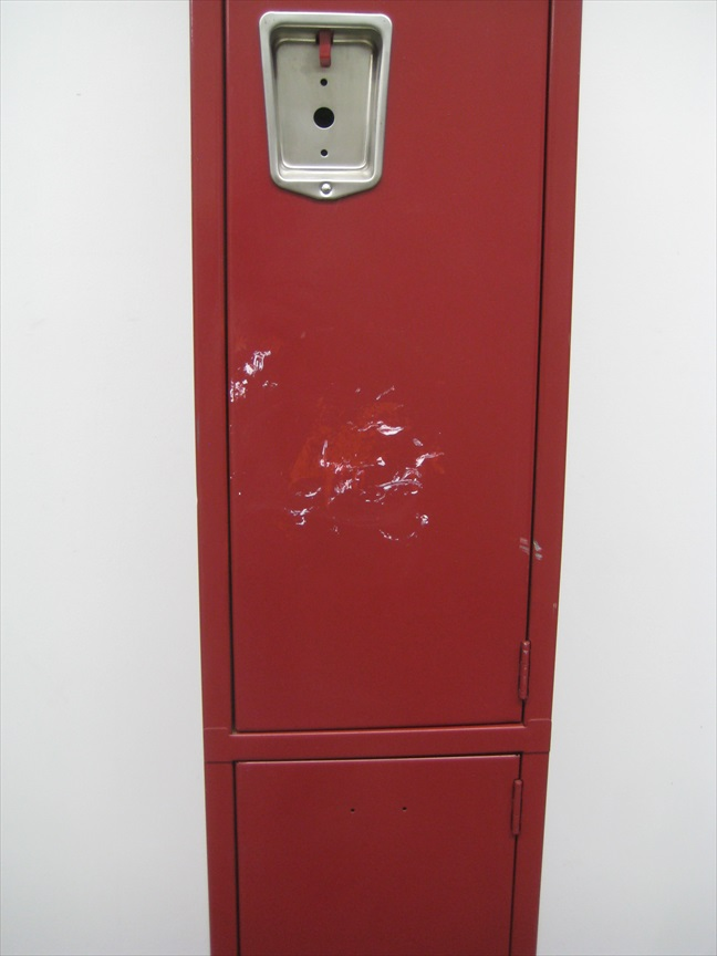 Double Tier Maroon Colored Lockersimage 3 image 3