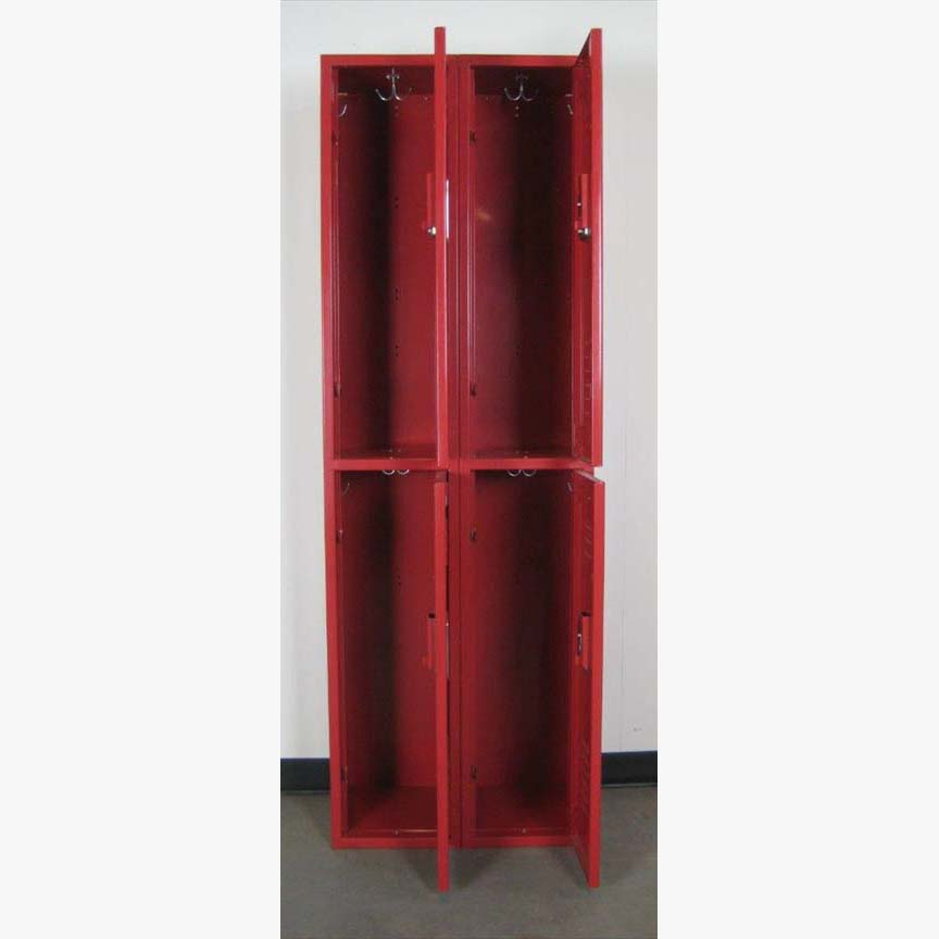 Red Double Tier Penco Lockersimage 3 image 3