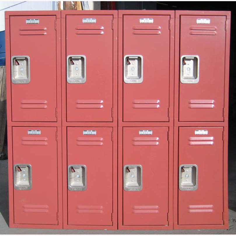Heavy Duty Gym Lockers - 2-Tier