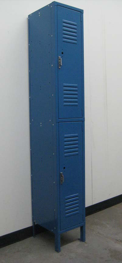 Blue 2-Tier Penco Storage Lockers