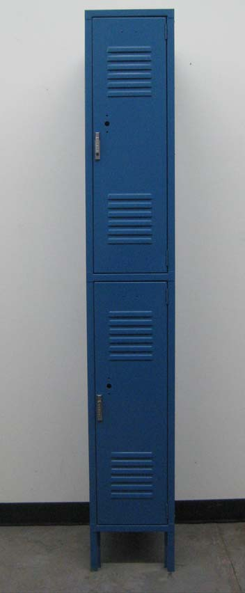 Blue 2-Tier Penco Storage Lockersimage 2 image 2