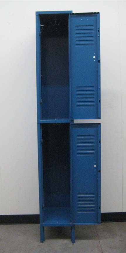Blue 2-Tier Penco Storage Lockersimage 3 image 3