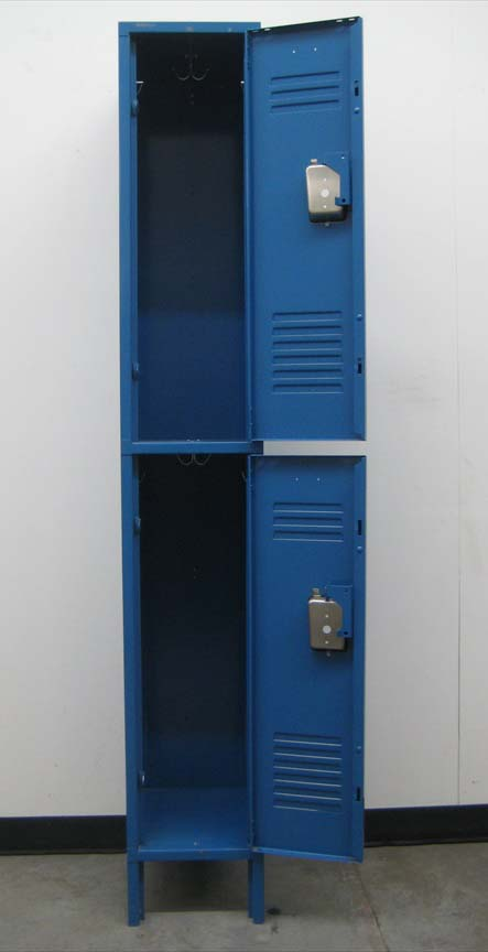 Double Tier Lockers with Recessed Handlesimage 3 image 3