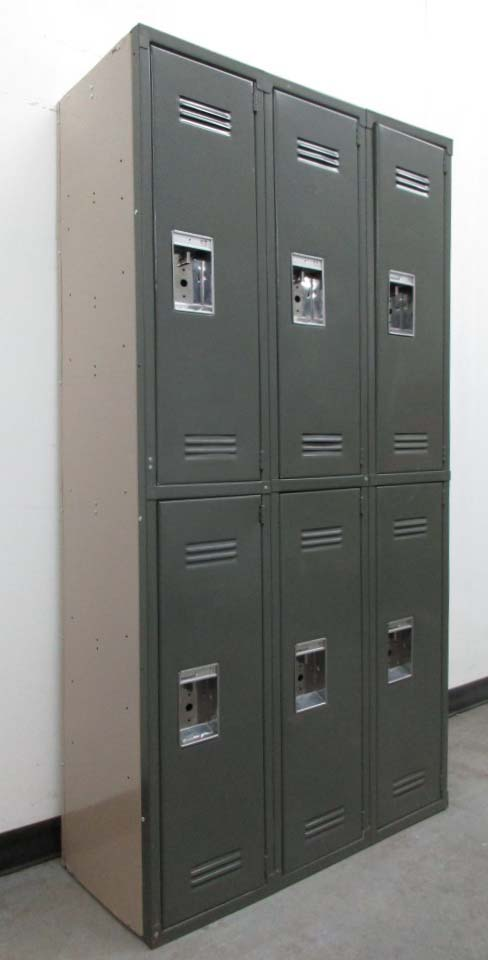 Used Gym Lockers - 2 Tier