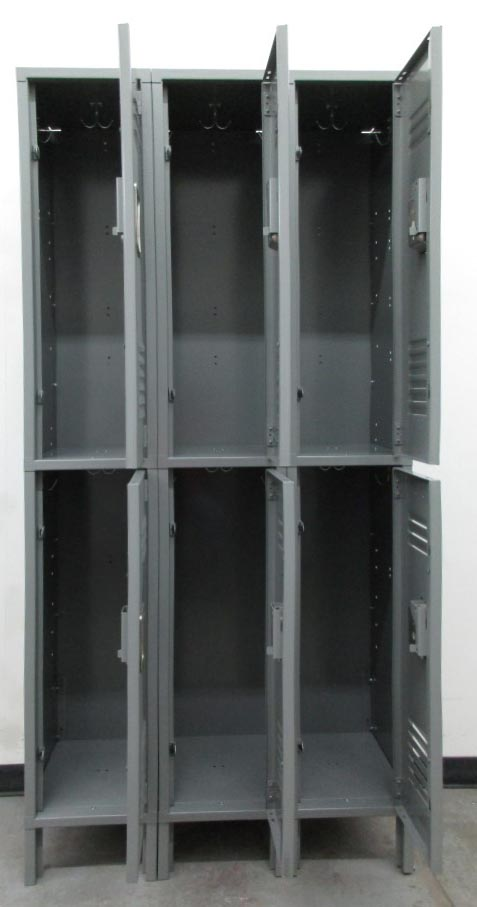 Double Stacked Steel Lockersimage 3 image 3