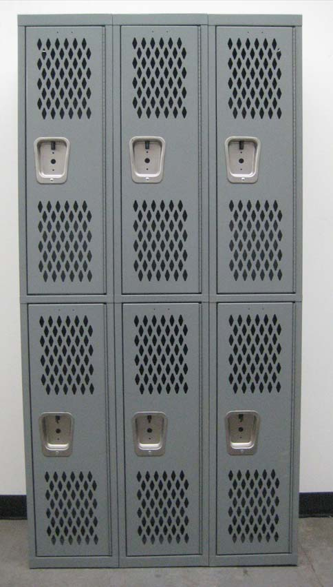 Heavy Duty 2-Tier Lockers with Ventilated Doorsimage 2 image 2