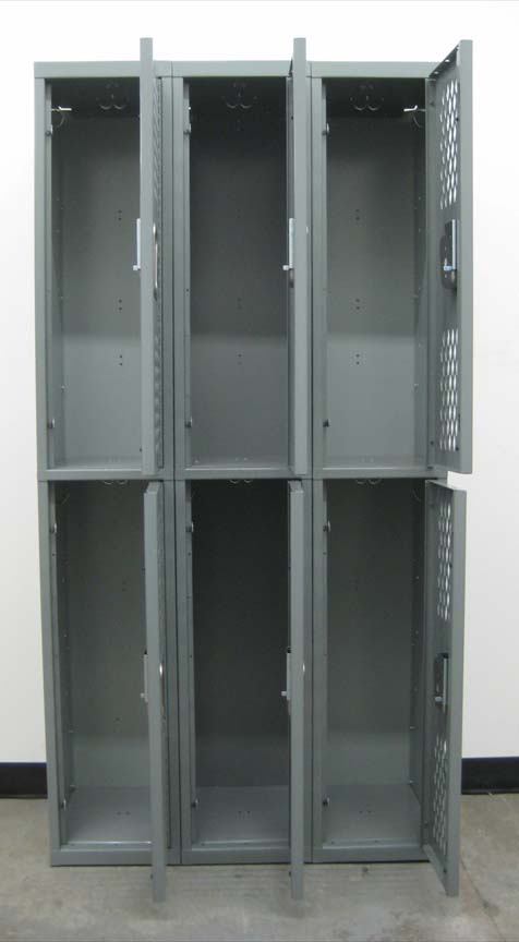 Heavy Duty 2-Tier Lockers with Ventilated Doorsimage 3 image 3