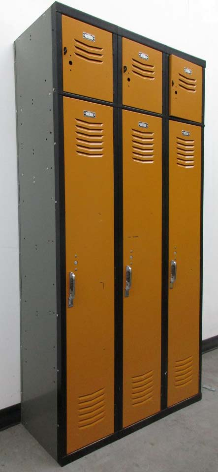 Vintage Steel Lockers