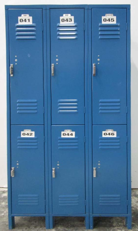 Employee Lockers Used