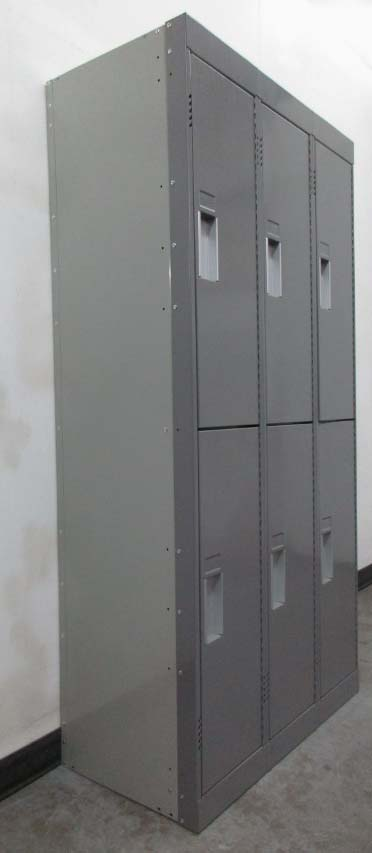 2-Tier Lockers with Double Panel Door
