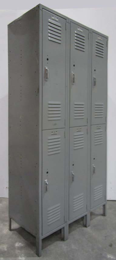 Double Door Metal Lockers