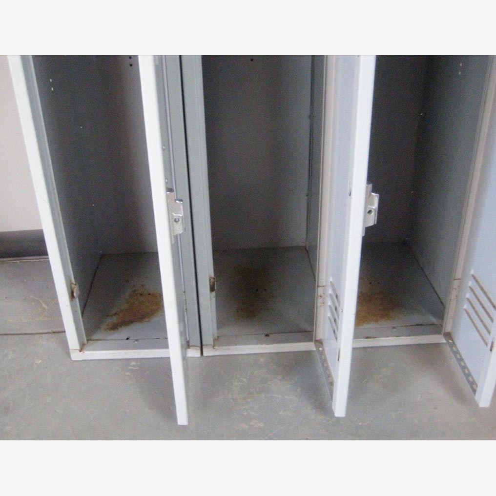 Double Tier Gray colored School Lockersimage 4 image 4