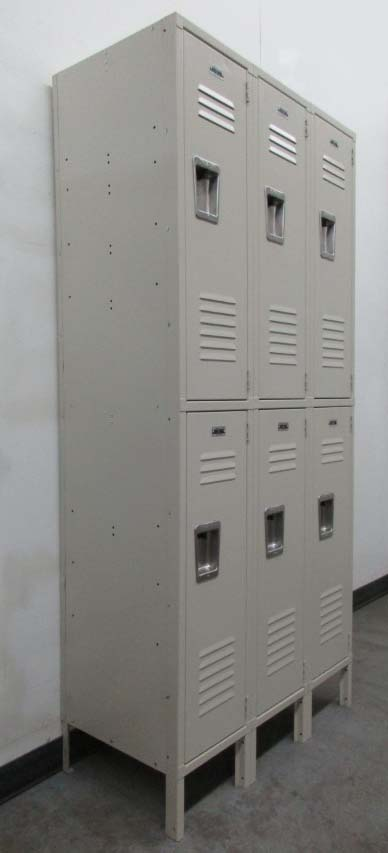 Double Tier Metal Storage Containers