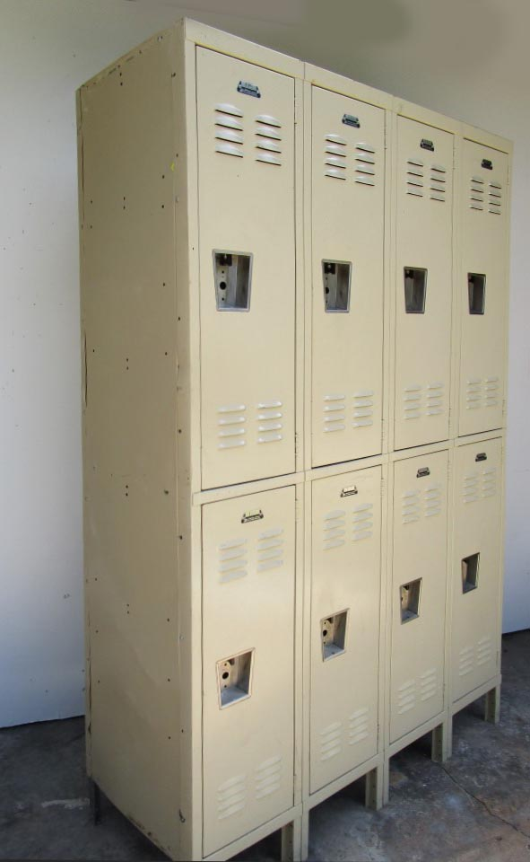 Extra Deep Double Tier lockers