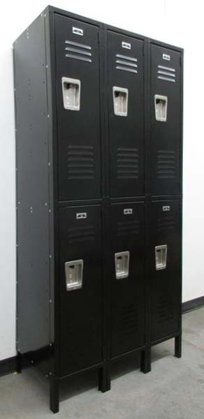 Black 2-Tier Jorgenson Locker