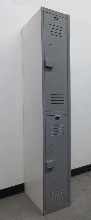 Double Tier Plastic Lockers