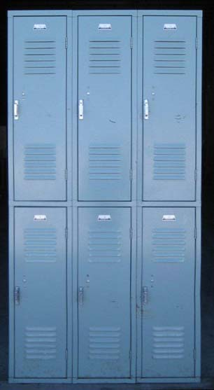 Double Tier work lockers
