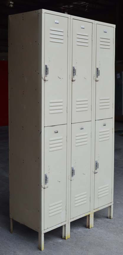 Penco Double Stacked Security Lockers