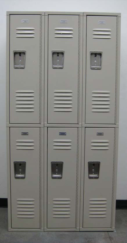 Double Tiered Metal Lockersimage 2 image 2