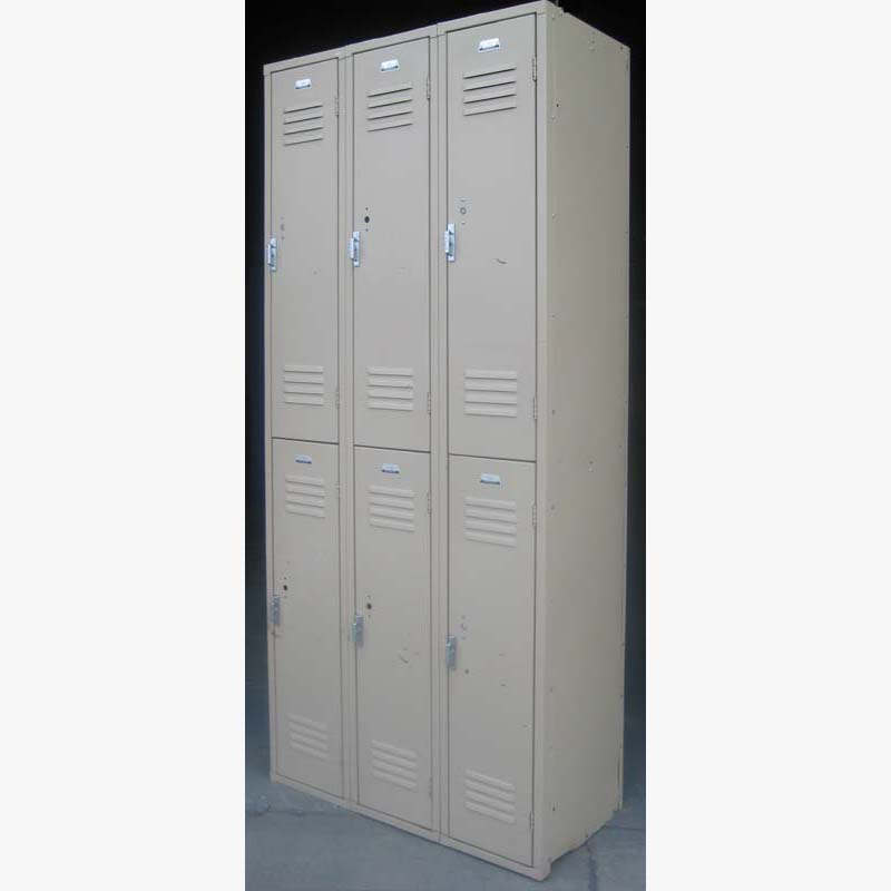 Metal Double Lockers - Extra Tall