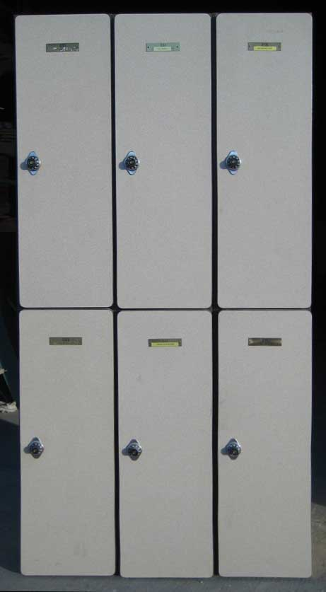 Plastic Laminate Wood Locker