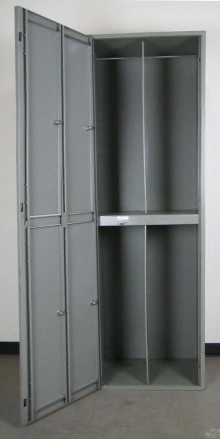 4 Compartment Uniform Lockers