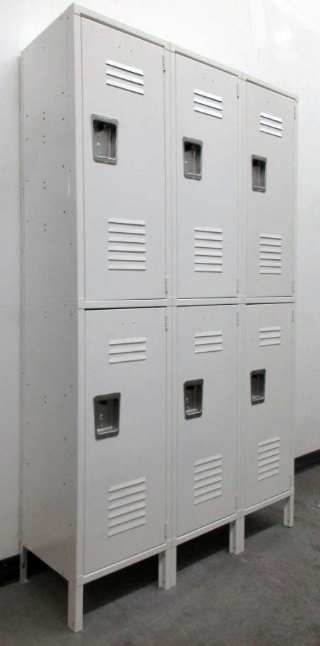 Extra Wide Double Tier Lockers