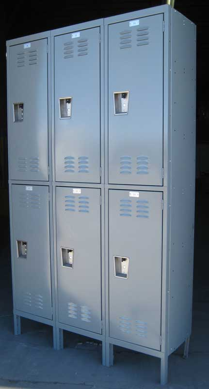 Large Double Stack Lockers