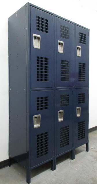 Double Tier Athletic Lockers
