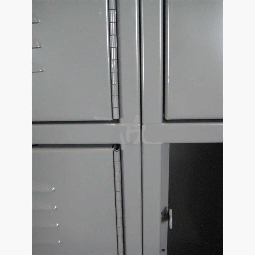 Double Tier Extra Large Gray Lockersimage 4 image 4