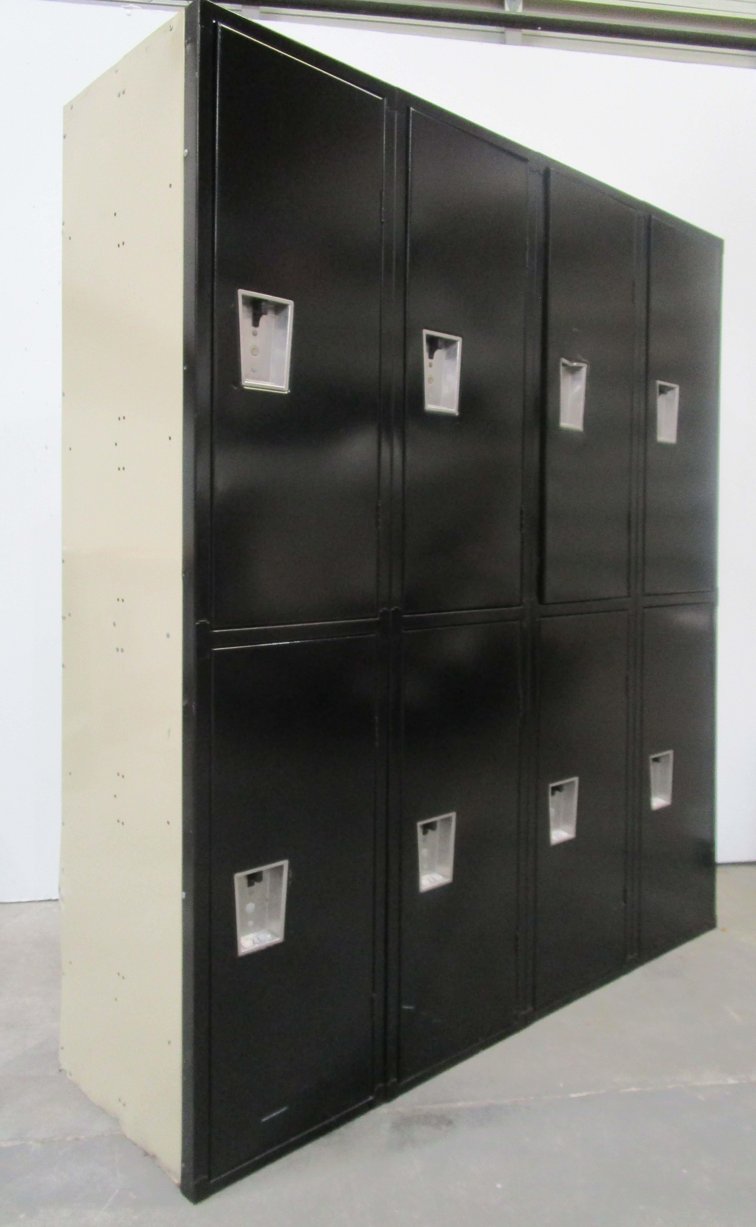 Extra Large Double Tier Metal Storage Lockers