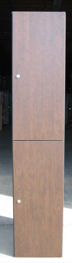 Plastic Wood Laminate Lockers