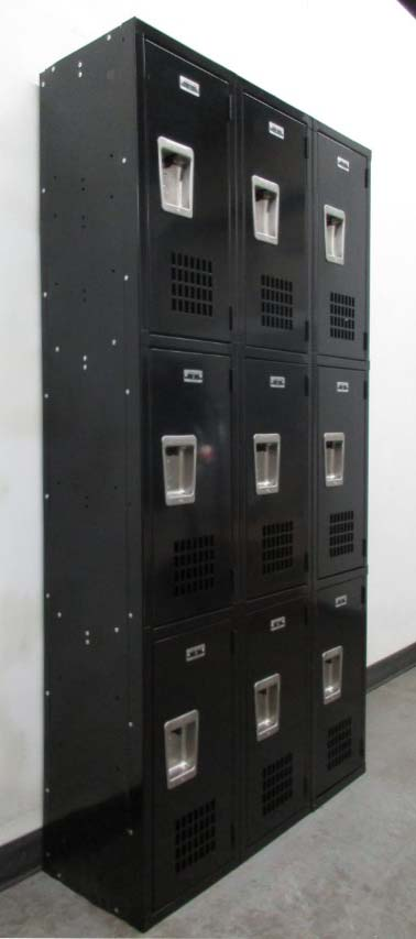 3-Tier California Box Lockers
