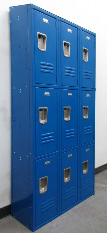 Three Tier Lockers