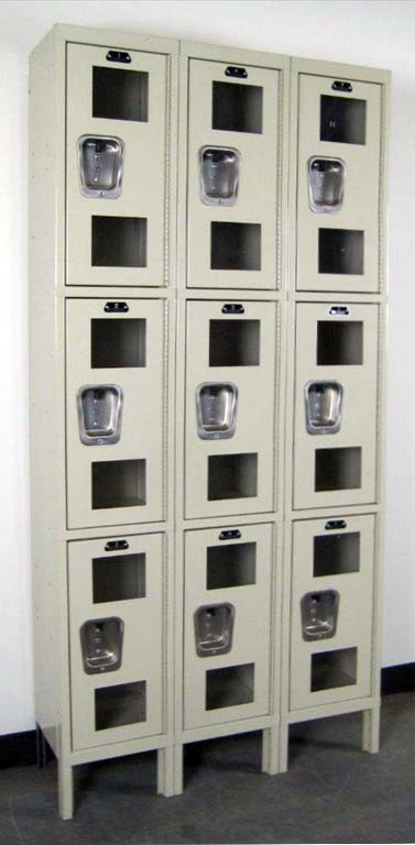 Hallowell Lockers With Clearview Doorsimage 2 image 2
