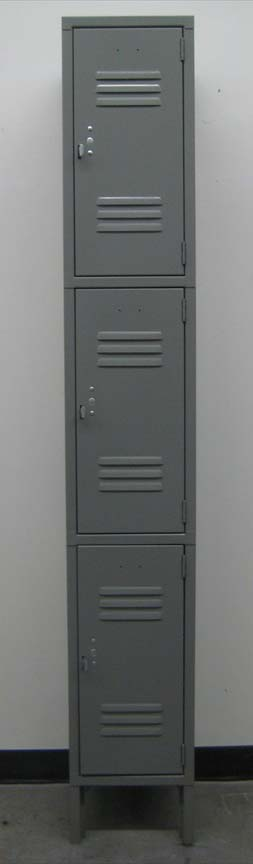 Three Tier Metal Storage Lockerimage 2 image 2
