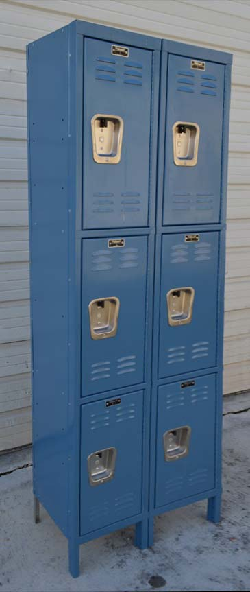 Standard Three Tier Steel Lockers