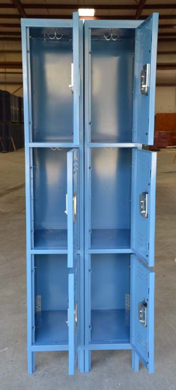Standard Three Tier Steel Lockersimage 3 image 3