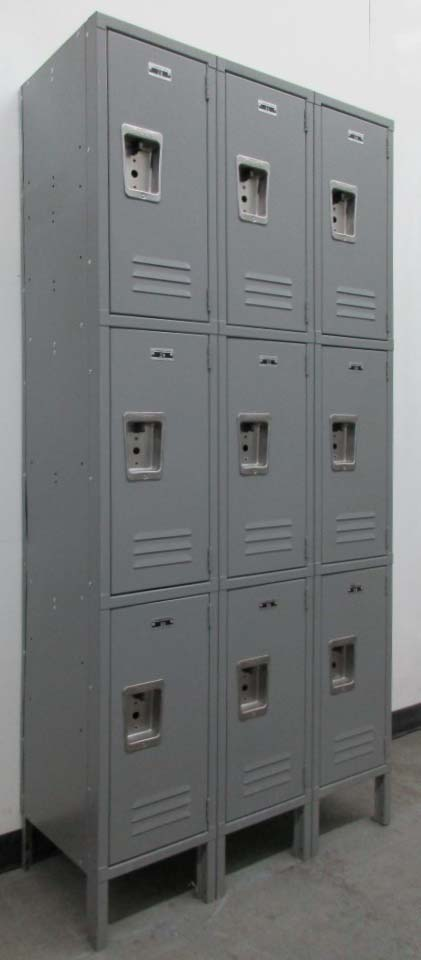 Triple Stack Lockers