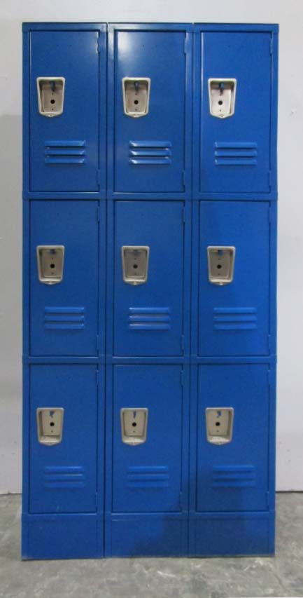 3-Tier Storage Lockersimage 2 image 2
